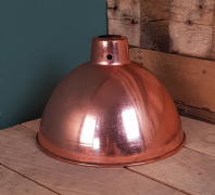 Pendant Hanging Light Polished Copper 215mm